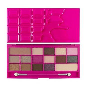 Makeup Revolution, I Heart Makeup Palette, paleta cieni do powiek Chocolate Love, 22 g-Makeup Revolution