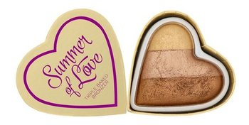 Makeup Revolution, I Heart Revolution, wypiekany bronzer, 10 g-Makeup Revolution