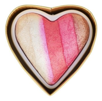 Makeup Revolution, I Heart Revolution, wypiekany rozświetlacz do twarzy Angel Heart Highlighter-Makeup Revolution