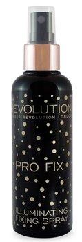 Makeup Revolution, Pro Fix Illuminating, spray utrwalający makijaż, 100 ml-Makeup Revolution