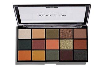 Makeup Revolution, Re-Loaded,  paleta cieni do powiek Iconic Division, 16,5 g-Makeup Revolution
