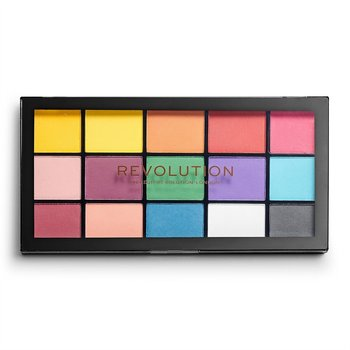 Makeup Revolution, Re-Loaded, paleta cieni do powiek Marvellous Mattes Iconic, 11 g - Makeup Revolution