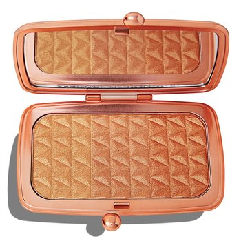 Makeup Revolution, Renaissance Illuminate Highlighter, paleta rozświetlaczy Bronze Blissful, 14 g-Makeup Revolution