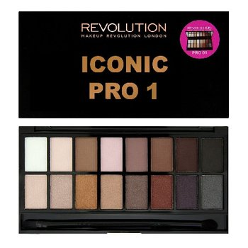 Makeup Revolution, Salvation Palette, paleta cieni do powiek Iconic Pro 1, 16 g - Makeup Revolution