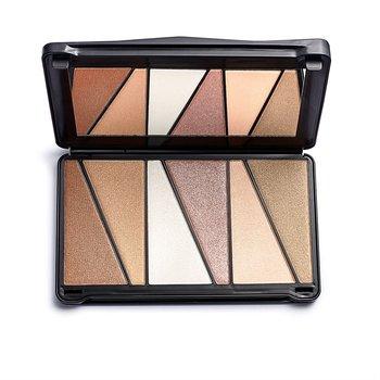 Makeup Revolution, Shook!, paleta rozświetlaczy, 6x7 g-Makeup Revolution