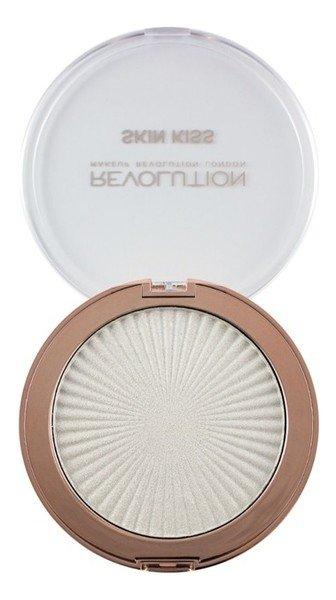 Makeup Revolution, Skin Kiss, rozświetlacz 09 Frozen Kiss, 14 g