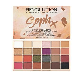 Makeup Revolution, SophX, paleta cieni do powiek, 26,6 g-Makeup Revolution