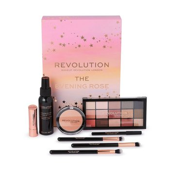 Makeup Revolution, The Evening Rose, zestaw kosmetyków, 8 szt.-Makeup Revolution