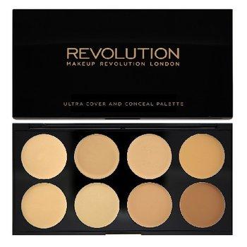 Makeup Revolution, Ultra Cover and Concealer Palette, paleta korektorów do twarzy Light-Medium, 10 g-Makeup Revolution
