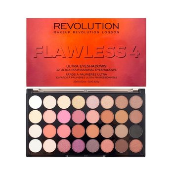 Makeup Revolution, Ultra Palette, paleta cieni do powiek Flawless 4, 16 g-Makeup Revolution