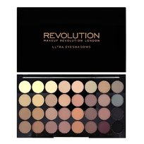 Makeup Revolution, Ultra Palette, paleta cieni do powiek Flawless Matte, 16 g
