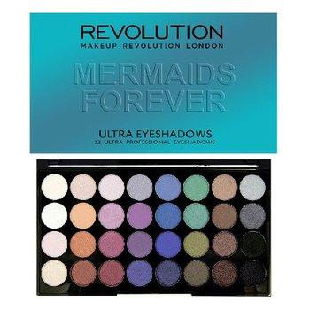 Makeup Revolution, Ultra Palette, paleta cieni do powiek Mermaids Forever, 16 g-Makeup Revolution