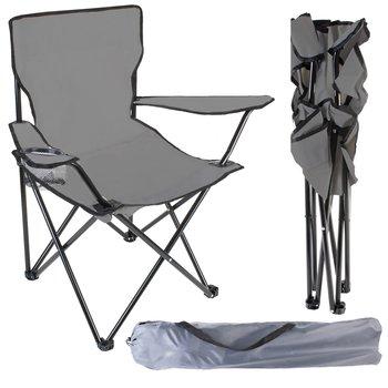 Malatec, Krzesło turystyczne, 10071, biały, 80x44x80 cm-Malatec