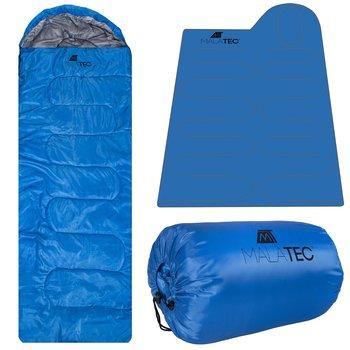 Malatec, Śpiwór, 10250, niebieski, 200x150 cm-Malatec