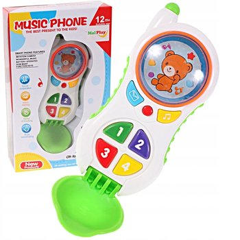 Malis, zabawka interaktywna Telefon Muzyczny -Malis