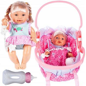 MalPlay, interaktywna lalka w nosidełku siusiająca-MalPlay