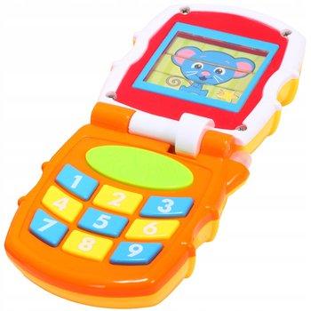 MalPlay, telefon edukacyjny z klapką gra świeci smartfon-MalPlay
