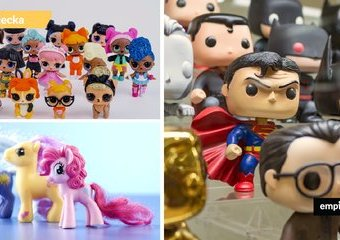 Mały kolekcjoner – popularne figurki i serie zabawek