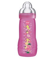 MAM, Baby Bottle, Butelka Jungle 330ml, 4m+