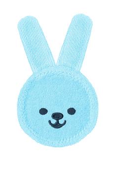 MAM Baby, Oral Care Rabbit, rękawiczka do masażu dziąseł niebieska, 1 szt.-MAM Baby