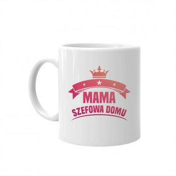 Mama – szefowa domu – kubek prezent dla mamy-Koszulkowy