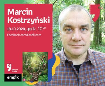 Marcin Kostrzyński – Spotkanie | Wirtualne Targi Książki. Przecinek i Kropka