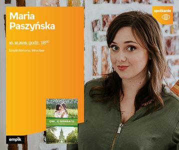 Maria Paszyńska | Empik Renoma