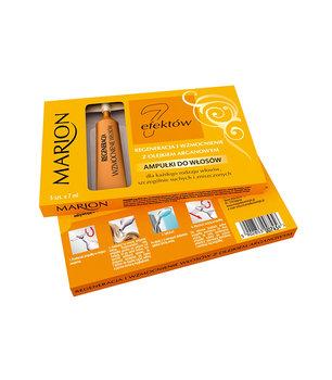 Marion, 7 Efektów, ampułki do włosów z olejkiem arganowym, 5 szt.-Marion