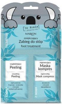 Marion, Dr Koala, zabieg do stóp, peeling + maska-Marion