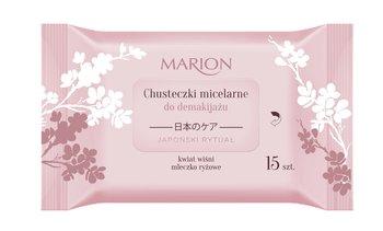 Marion, Japoński Rytuał, chusteczki micelarne do demakijażu, 15 szt.-Marion