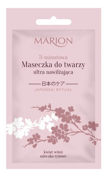 Marion, Japoński Rytuał, maseczka do twarzy 3-minutowa ultra nawilżająca, 10 g-Marion