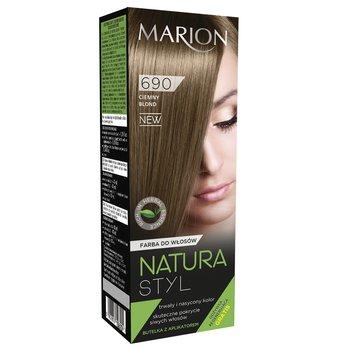 Marion Natura Styl Farba Do Wlosow 690 Ciemny Blond 95 Ml Sklep