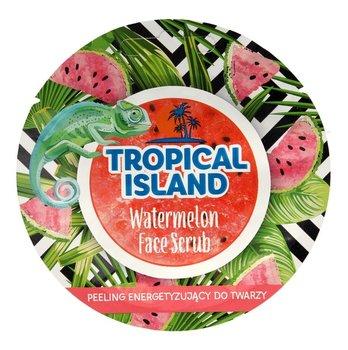 Marion, Tropical Island, energetyzujący peeling do twarzy Watermelon, 8 g-Marion
