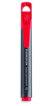 Markery Triplus, wodoodporne, czerwone, 10 sztuk