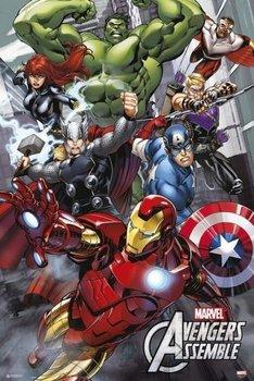 Marvel Avengers Assemble - plakat 61x91,5 cm-Grupoerik