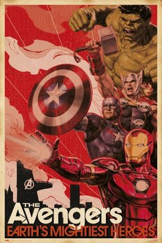 Marvel Avengers Earths Mightiest Heroes - plakat 61x91,5 cm-Grupoerik