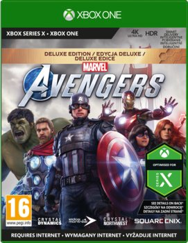 Marvel's Avengers - Deluxe Edition-Crystal Dynamics