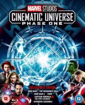 Marvel Studios Cinematic Universe: Phase One-Leterrier Louis, Whedon Joss, Favreau Jon, Johnston Joe, Branagh Kenneth