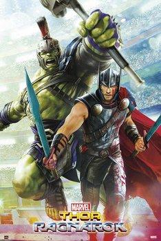 Marvel Thor Ragnarok - plakat 61x91,5 cm-Grupoerik