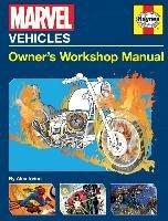 Marvel Vehicles: Owner's Workshop Manual-Irvine Alex