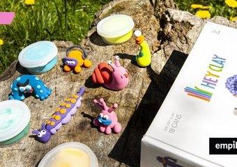 Masa plastyczna Hey Clay – kreatywny pomysł na prezent