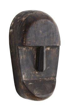 Maska drewniana, drewno mango, 23cm, dekoracja ścienna (CCS-22A)-Madam Stoltz