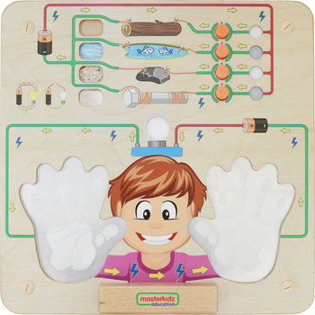 Masterkidz, tablica edukacyjna Eksperyment przewodnictwa-Masterkidz