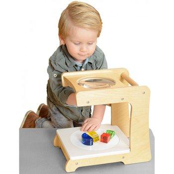 Masterkidz, zabawka edukacyjna Stolik powiększający z lupą-Masterkidz