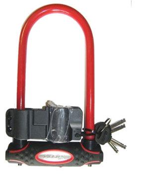 Masterlock, Zapięcie rowerowe, 8195 U-loc, czerwony, 210 mm -Master Lock