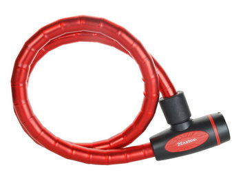 Masterlock, Zapięcie rowerowe, Quantum 8228, czerwony, 100 cm  -Master Lock