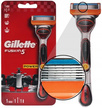 MASZYNKA DO GOLENIA GILLETTE FUSION 5 POWER F1-Gillette