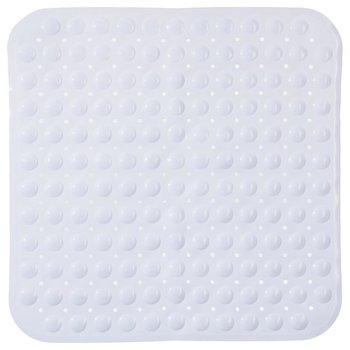 Mata antypoślizgowa do brodzika, 54x54 cm, biała-5five Simple Smart