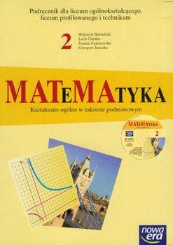 Matematyka 2. Podręcznik + CD-Babiański Wojciech, Chańko Lech, Czarnowska Joanna