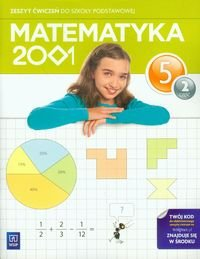 matematyka 2001 klasa 5 zeszyt ćwiczeń część 2 odpowiedzi